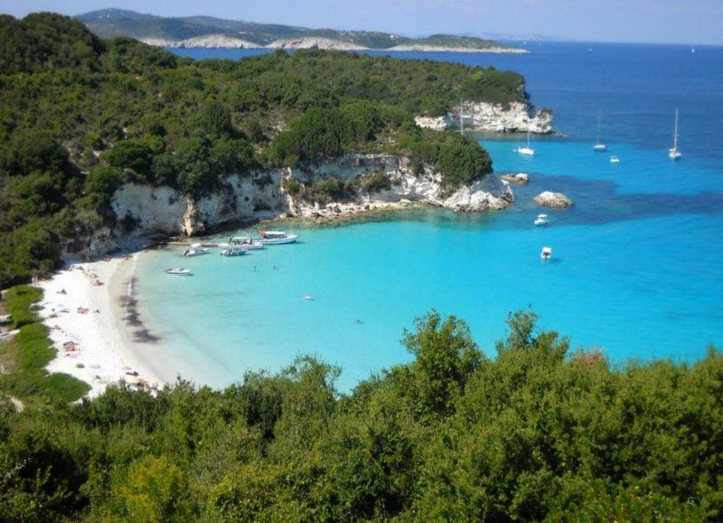 paxi islas jonicas grecia