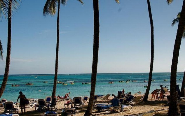 punta cana playa caribe