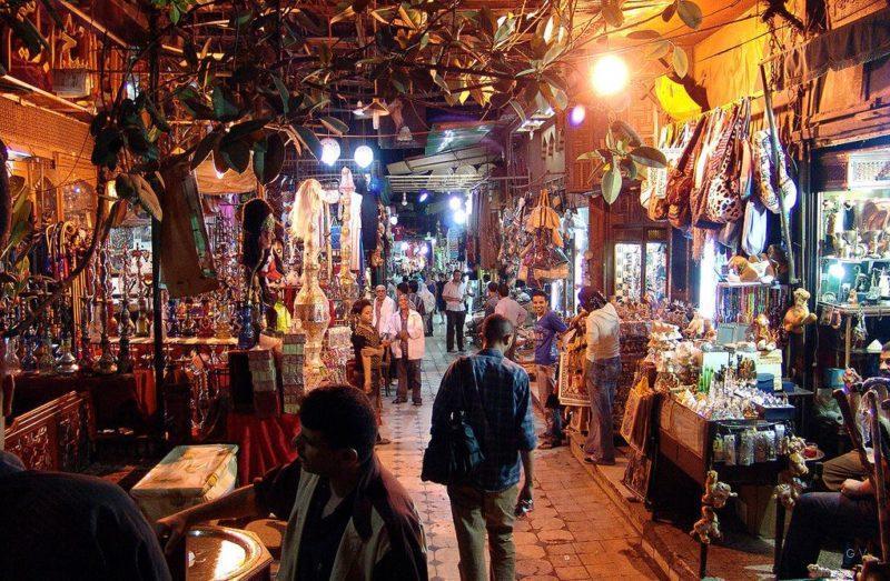 Bazar Khan el Khalili egipto