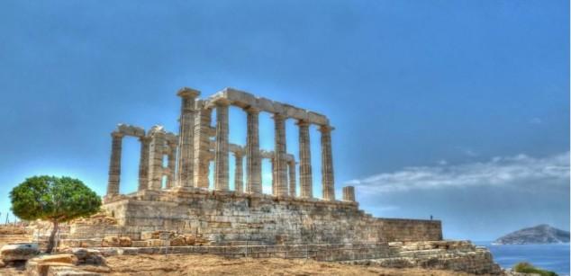 templo de poseidon atenas antigua grecia