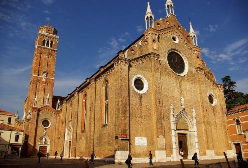 visitar en venecia basilica santa maria