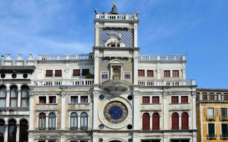 visitar torre reloj venecia