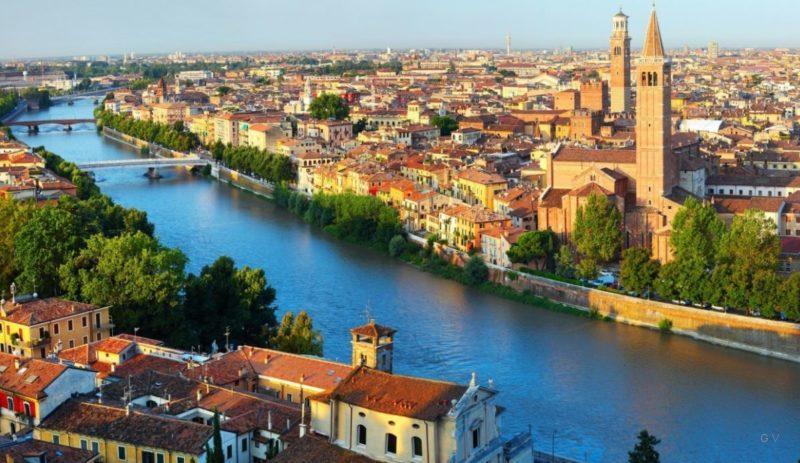 viajar verona italia