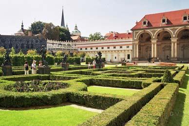 Wallenstein Gardens Praga Turismo
