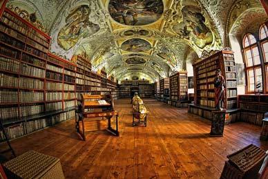 biblioteca monasterio strahov