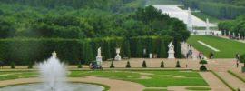 paseo por el parque de versalles