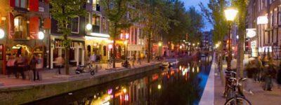 Barrió Rojo en Ámsterdam