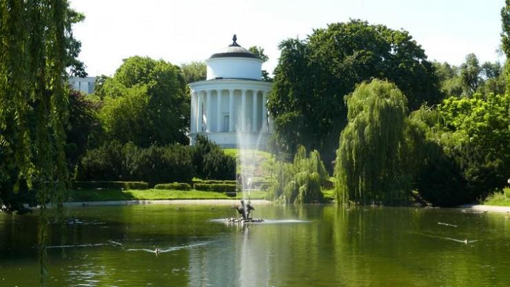 Parque Saski de Varsovia