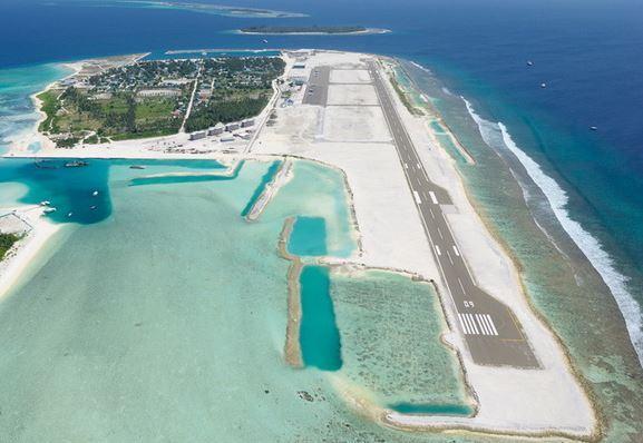 Aeropuerto Maamigili en Maldivas 2