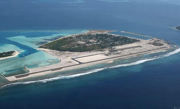 Aeropuerto Maamigili en Maldivas