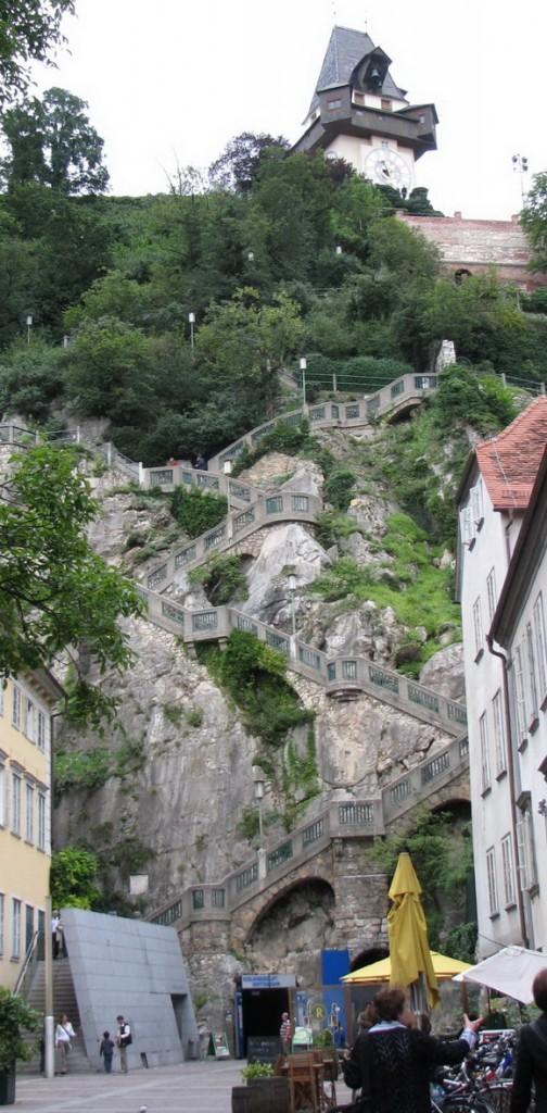 Schlossberg Escaleras, Austria