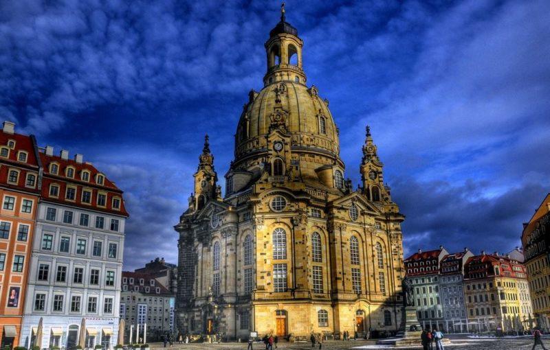 alemania dresden frauenkirche