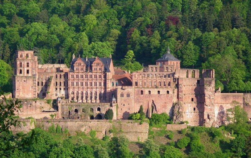 castillo de heidelberg famoso en alemania