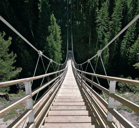 puente stair suiza