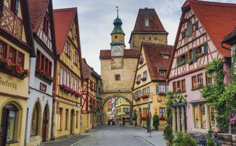 ruta romantica alemania
