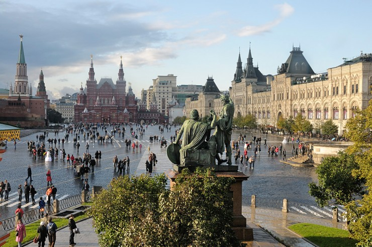 La Plaza Roja moscu rusia