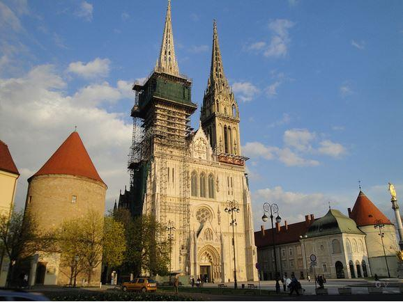 catedral capital de croacia zagreb