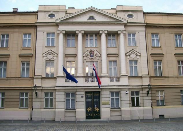 parlamento croacia zagreb