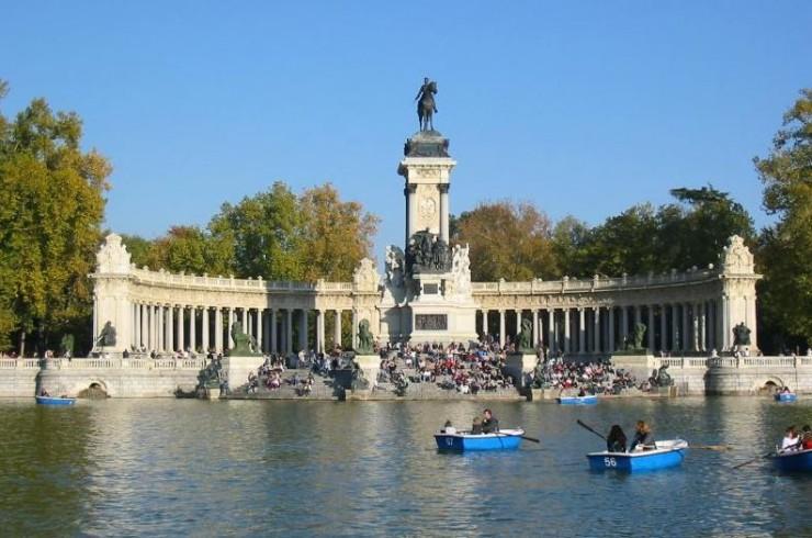 Parque de El Retiro Madrid