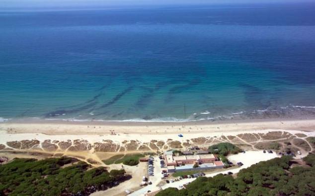Playa de Los Lances en Cadiz