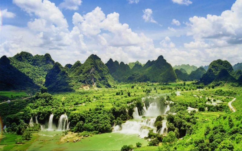 visitar cascadas sapa vietnam