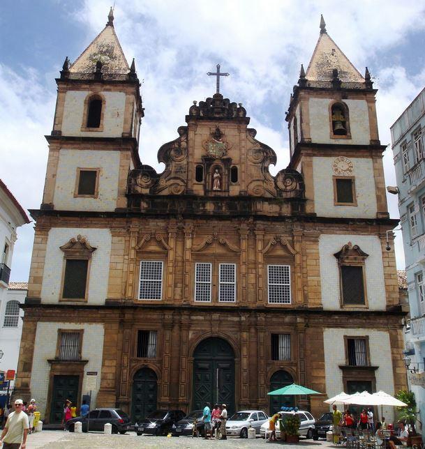 Iglesia de San Francisco salvador brasilia