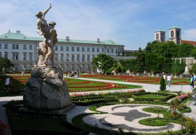 Palacio de Mirabell turismo salzburgo