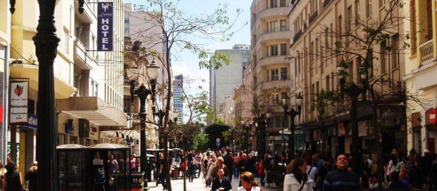 Rua das Flores curitiba brasil