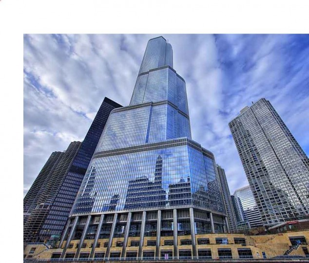 Trump international Hotel Tower Chicago