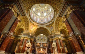 basilica san esteban budapest hungria interior