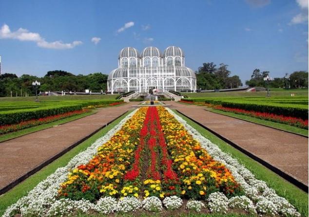 jardin botanico curitiba brasil