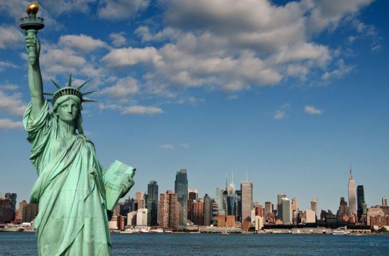 monumento estatua libertad