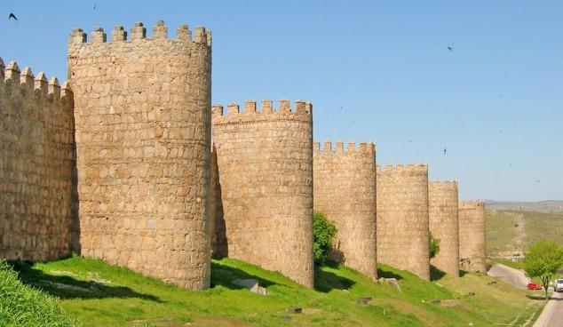 murallas fortificadas avila