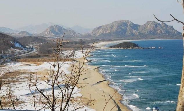 playas corea