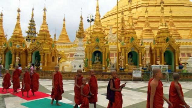 templos religiosos myanmar