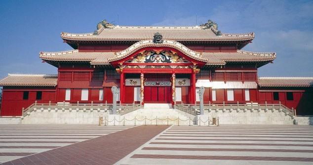 Castillo Shuri-jo en Okinawa japon