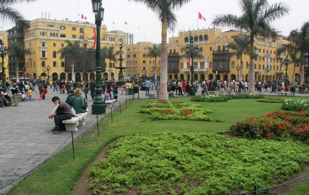 Plaza Mayor de Lima