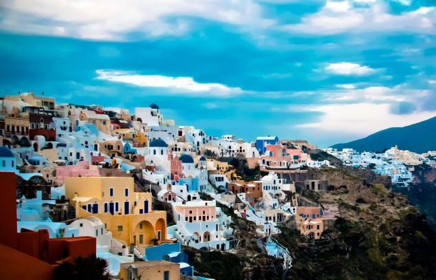 Santorini una Isla de ensueño Mar Egeo