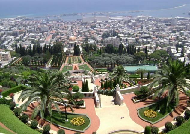 jardines haifa israel