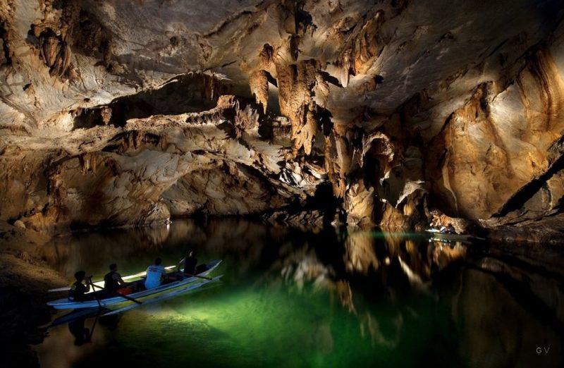 puerto princesa rio subterraneo en la isla de palawa filipines