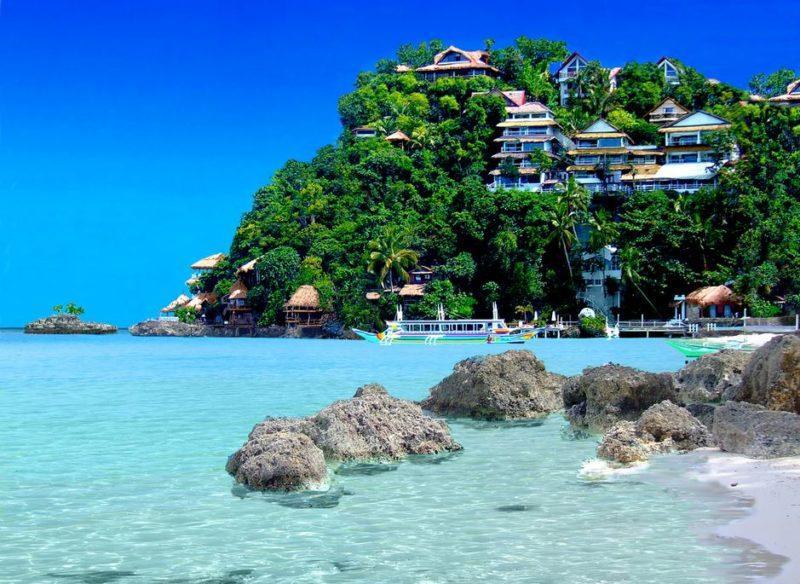 Boracay es un impresionante complejo turístico con resorts