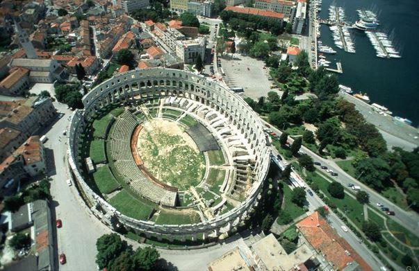 Anfiteatro de Pula Croacia