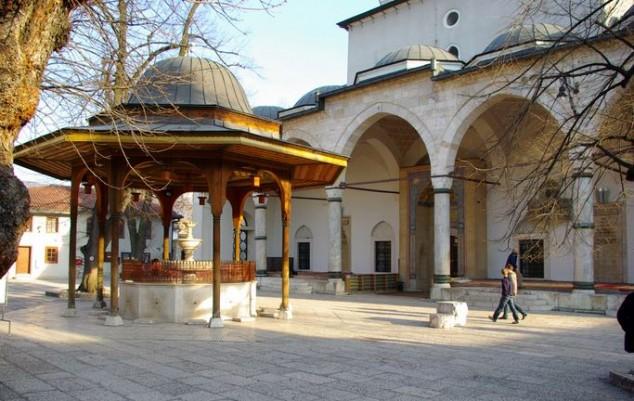 Gazi Husrev beg Mosque sarajevo
