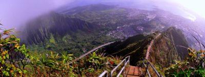 La Escalera al Cielo en Hawaii