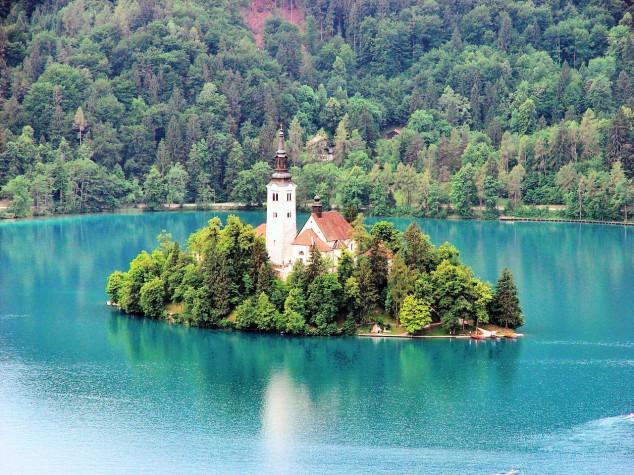 La Isla de Bled - Un lugar de cuento de hadas en Eslovenia2