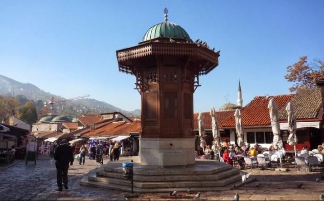 Lugares para visitar en Sarajevo Fuente Sebilj