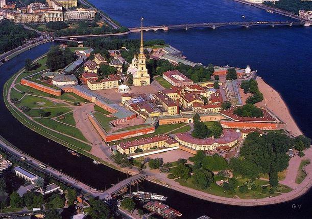 san petesburgo Fortaleza Pedro y Pablo