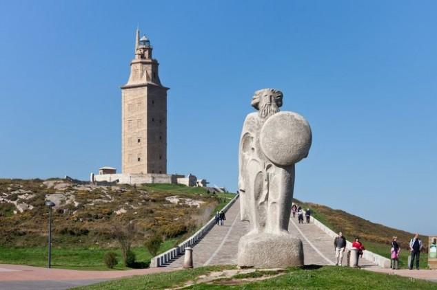 torre hercules galicia