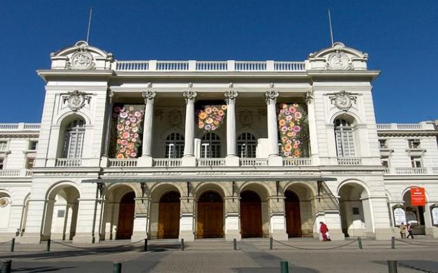 turismo Teatro Municipal de Santiago