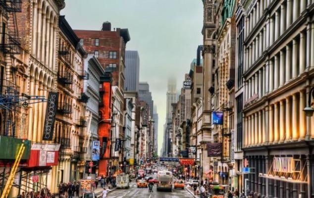 Soho un barrio de Manhattan